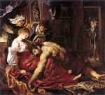 samson and delilah by peter paul rubens posters