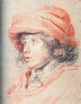 son nicolas with a red cap by peter paul rubens painting