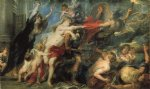 peter paul rubens the consequences of war painting-26966