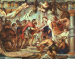 peter paul rubens the meeting of abraham and melchizedek paintings