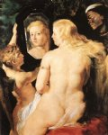venus at a mirror by peter paul rubens painting