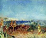 pierre auguste renoir arabs by the sea painting