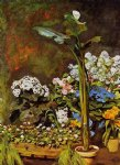 pierre auguste renoir arum and conservatory plants painting
