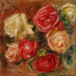 pierre auguste renoir bouquet of flowers painting 26020