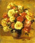 pierre auguste renoir bouquet of roses (bouquet de roses) painting 77738