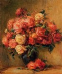 pierre auguste renoir bouquet of roses ii painting 26021