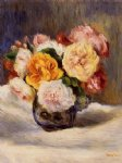 pierre auguste renoir bouquet of roses painting 26027