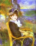 pierre auguste renoir by the seashore posters