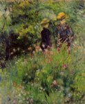 pierre auguste renoir conversation in a rose garden painting 26106