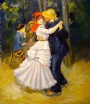 pierre auguste renoir dance at bougival ii painting-26118