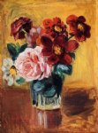 pierre auguste renoir flowers in a vase v painting 26155
