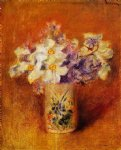 pierre auguste renoir flowers in a vase vi painting 26156