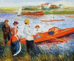 pierre auguste renoir oarsmen at chatou ii painting