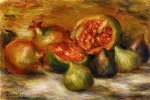 still life with figs by pierre auguste renoir painting