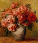 pierre auguste renoir still life with roses ii painting 26266