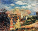 pierre auguste renoir the banks of the seine at argenteuil art