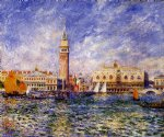 dog oil paintings - the doges palace venice by pierre auguste renoir