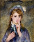 pierre auguste renoir the ingenue oil painting