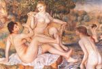pierre auguste renoir the large bathers i painting