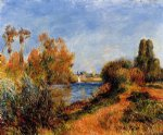 pierre auguste renoir the seine at argenteuil art