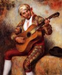pierre auguste renoir the spanish guitarist painting