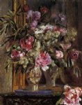 pierre auguste renoir vase of flowers v painting 26681