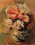 pierre auguste renoir vase of flowers painting 26473