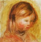 young girl by pierre auguste renoir painting-26604