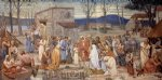 pierre puvis de chavannes the childhood of saint genevieve paintings-25927