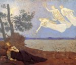 pierre puvis de chavannes the dream paintings-25928