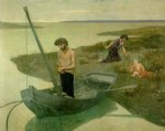 pierre puvis de chavannes the poor fisherman paintings-25929