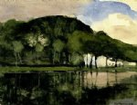 piet mondrian along the amstel oil painting