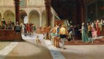 the royal visit by pietro gabrini painting