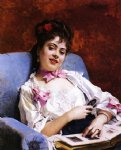 fond memories by raimundo de madrazo y garreta paintings-25910