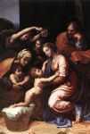 raphael the holy family art