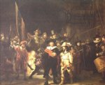 rembrandt van rijn night watch painting