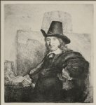 portrait paintings - portrait of jan asselyn by rembrandt van rijn