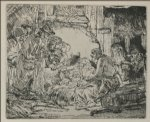 rembrandt van rijn the nativity paintings