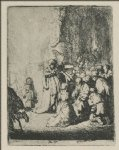 rembrandt van rijn the presentation with the angel paintings