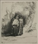 the spanish gypsy by rembrandt van rijn painting