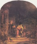 rembrandt van rijn the toilet of bathsheba painting
