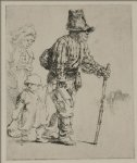 three peasants travelling by rembrandt van rijn painting