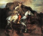 the polish rider by rembrandt painting