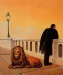rene magritte homesickness paintings