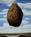 rene magritte la chateau des pyrenees paintings