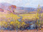 robert vonnoh late autumn paintings-25374