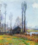 robert vonnoh moist weather france paintings-25388