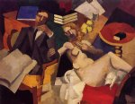 married life by roger de la fresnaye painting