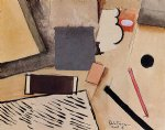 the penholder by roger de la fresnaye painting