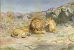 royalty at home by rosa bonheur painting